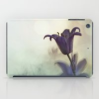 Bluebell in early evening light iPad Case