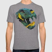 Three Little Birds Mens Fitted Tee Tri-Grey SMALL