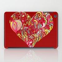 Doodle Heart iPad Case