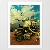 Hunter S Art Print