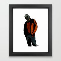 Casual Mercenary Framed Art Print