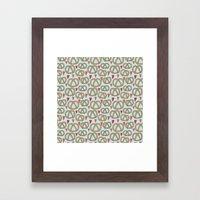 Pattern Project #43 / Pretzel Love Framed Art Print