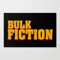 Bulk Fiction Canvas Print