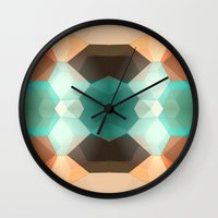 Edie Dimensions Wall Clock