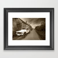 Dorset Defender  Framed Art Print