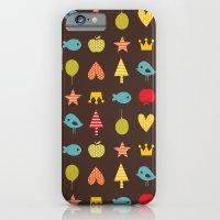Happy Pattern iPhone 6 Slim Case