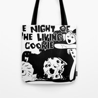 the nigth of the living cookie  Tote Bag