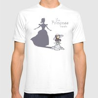 The Princess Inside Mens Fitted Tee White SMALL