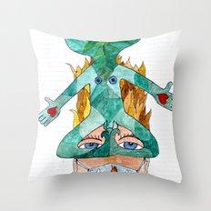 Future Denied - Futuro Negato Throw Pillow