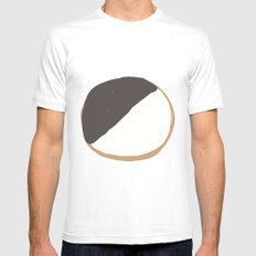 Cookie SMALL White Mens Fitted Tee