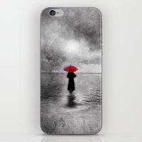 waiting in the sea II  -  by Viviana Gonzalez iPhone & iPod Skin