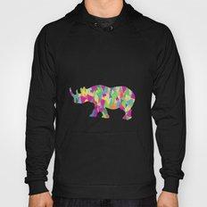Abstract Rhino Hoody
