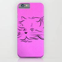 Cat Lines iPhone 6 Slim Case