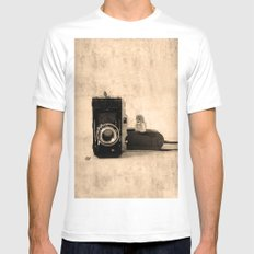 Photography SMALL White Mens Fitted Tee