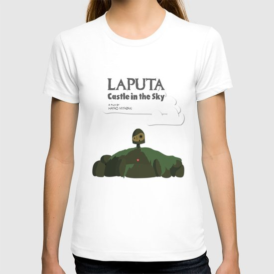Laputa Castle in the Sky T-shirt