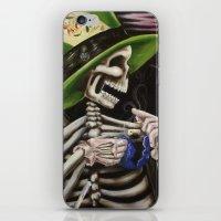 Skeleton Tea Party iPhone & iPod Skin