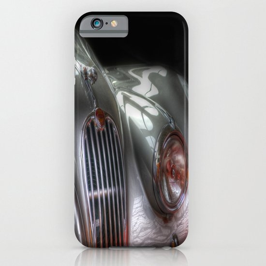 Silver Jag iPhone & iPod Case