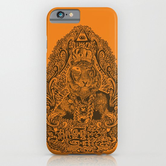 kill the tiger iPhone & iPod Case