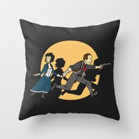 TinTinfinite Throw Pillow