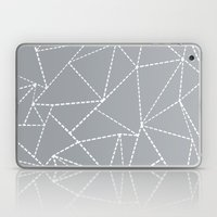 Abstract Dotted Lines Gr… Laptop & iPad Skin