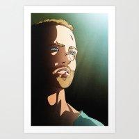 187 (Jesse Pinkman - Breaking Bad) Art Print