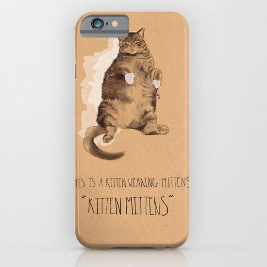 Kitten Mittens iPhone & iPod Case