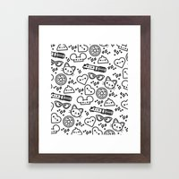 Cute Stuff Framed Art Print