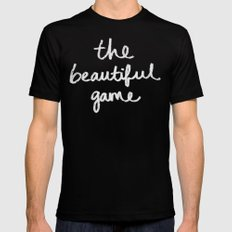 The Beautiful Game Mens Fitted Tee Black SMALL