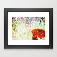 DIAMOND SKY Framed Art Print