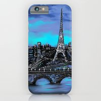 iPhone & iPod Case featuring Eiffel Tower ~ Paris France by RokinRonda