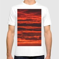 T-shirt featuring Fiery Sunset by Svetlana Korneliuk