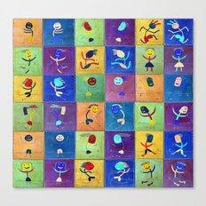 Children's games Canvas Print