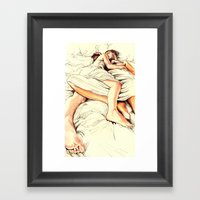 Origin Of Love #5  Framed Art Print