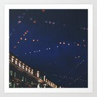 Christmas Lights ...  Art Print