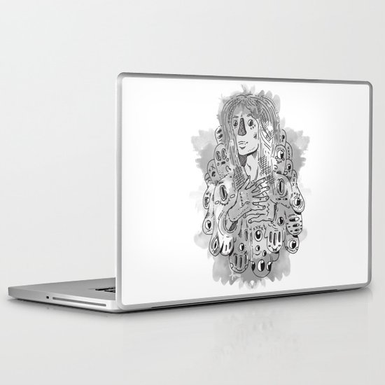 """I Never Learn"" by Jacob Livengood Laptop & iPad Skin"