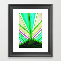 Linear Colour  Framed Art Print