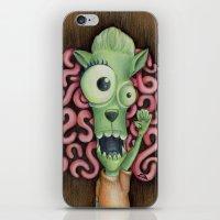 Monster 1: Floyd. iPhone & iPod Skin