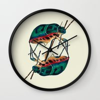 insects:love 01 Wall Clock