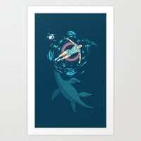 Cryptosoaking Art Print