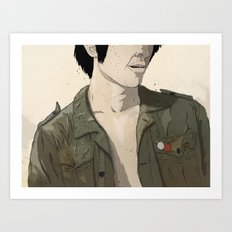 Smokey & the Jacket II Art Print