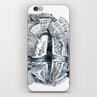 The City Bean  iPhone & iPod Skin