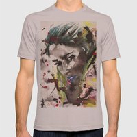 2095 Mens Fitted Tee Cinder SMALL