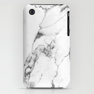 White Marble I iPhone (3g, 3gs) Slim Case
