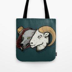 Sheep Skin Tote Bag