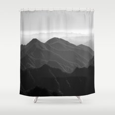 I was a lonely estate  Shower Curtain