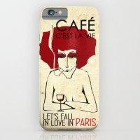 Café c'est la vie - Paris iPhone 6 Slim Case