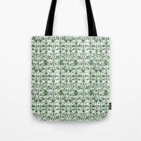 Green Pattern Tote Bag