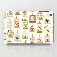 Bird Cages iPad Case