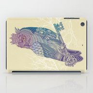 Owl King Color iPad Case