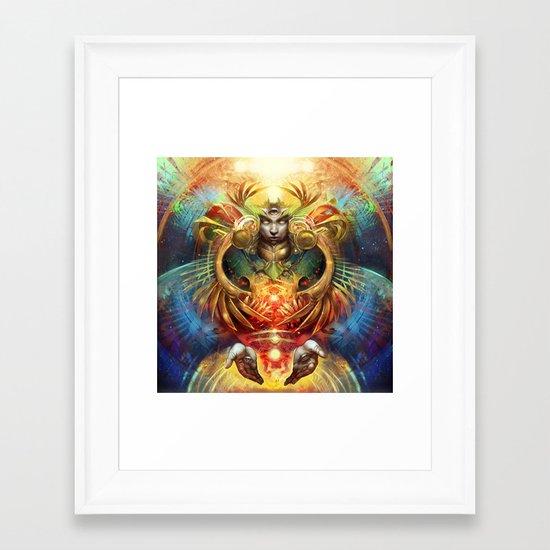 Wat Framed Art Print